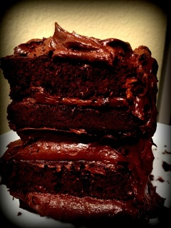 Chocolate, chocolate chips, Cocoa powder, frosting, Cake, decorations, recipe, recipes, home cooking, homemade,